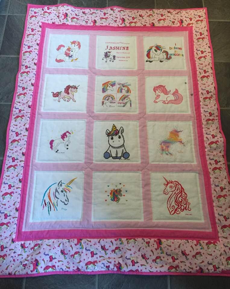 Photo of Jasmine W's quilt