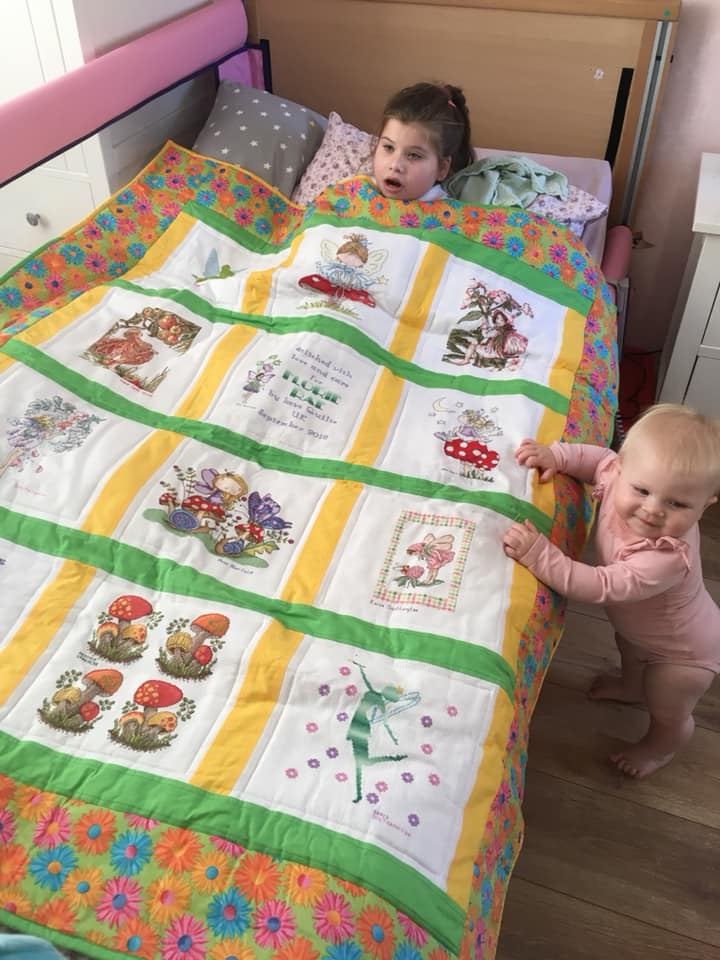 Photo of Florie-Rae's quilt