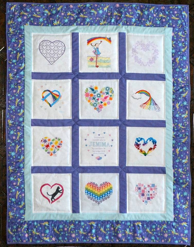 Photo of Jemima P's quilt