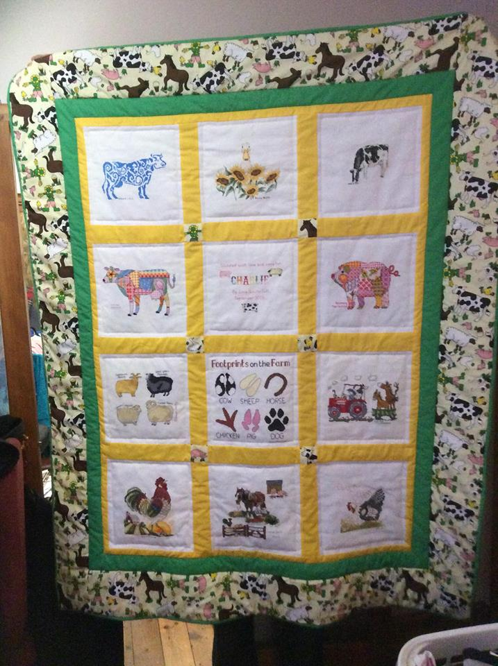 Photo of Charlie Y's quilt