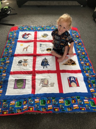 Photo of Levi-Jett M's quilt