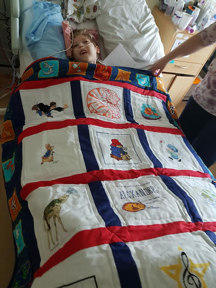 Photo of Alexander L's quilt
