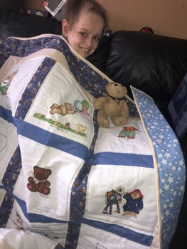 Photo of Leyton E's quilt