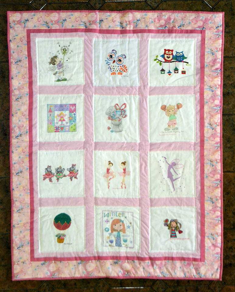 Photo of (QUILTED) General Cute's quilt