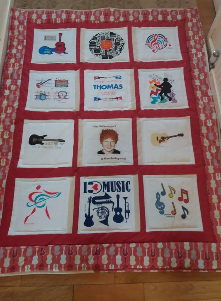 Photo of Thomas S 2's quilt