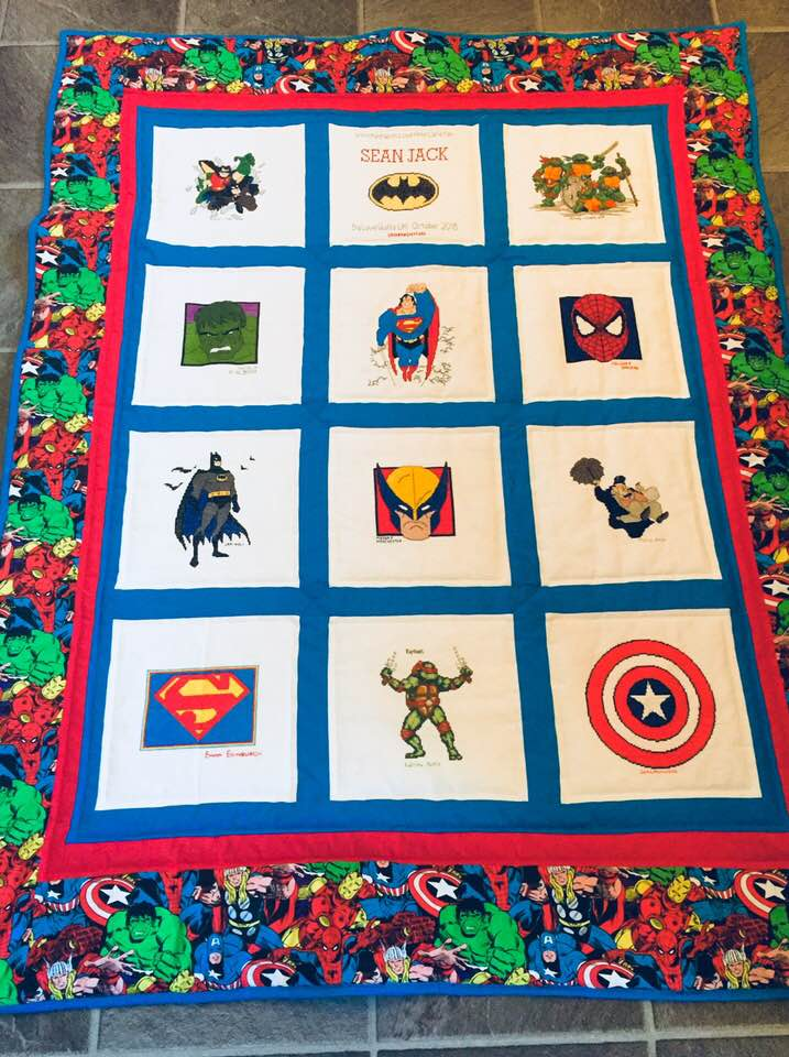 Photo of Sean Jack's quilt