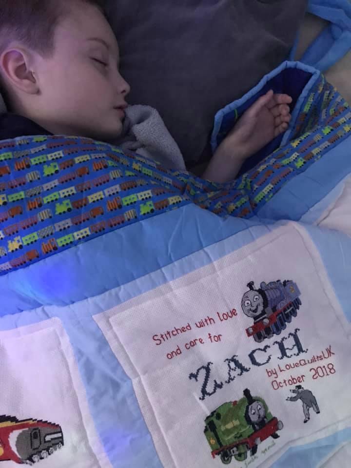 Photo of Zach B's quilt