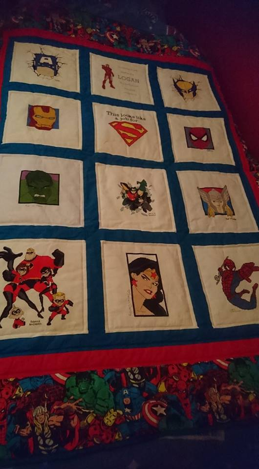 Photo of Logan B's quilt