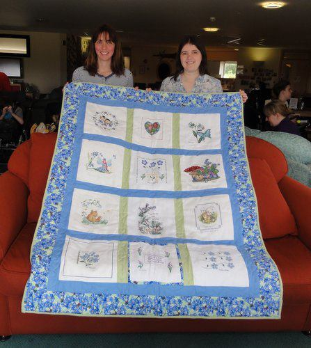 Photo of Forget-Me-Not Quilt's quilt