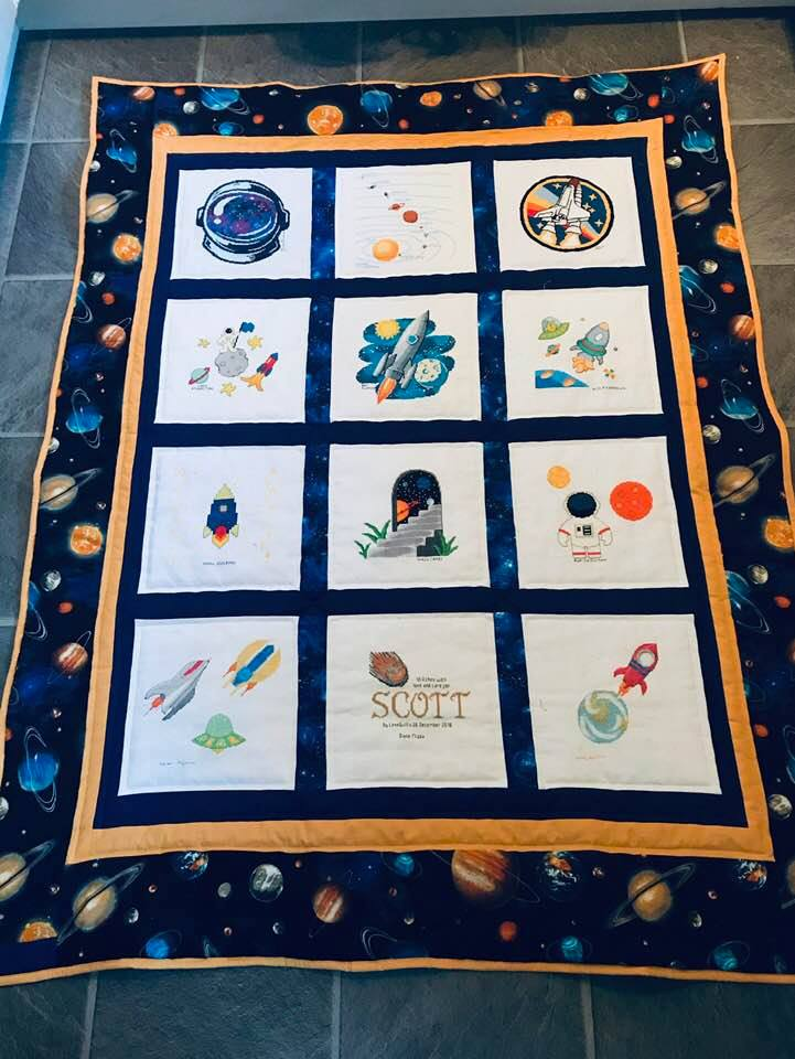 Photo of Scott H's quilt