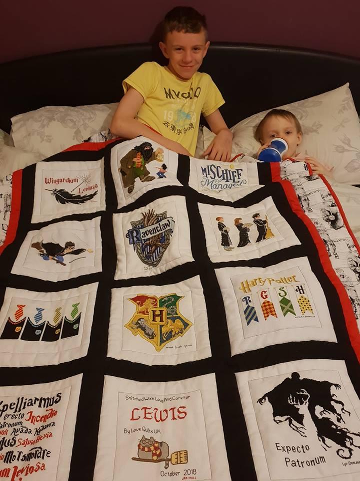 Photo of Lewis D's quilt