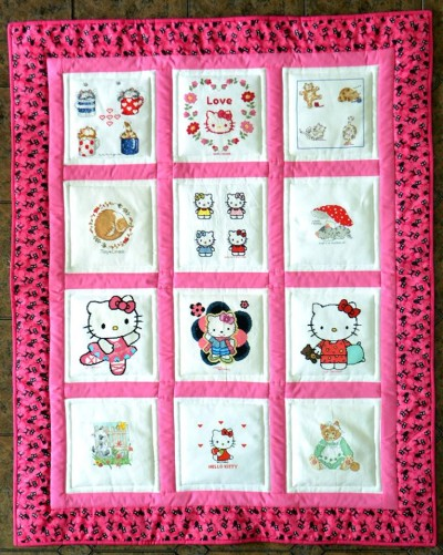 Photo of (QUILTED) Cats's quilt