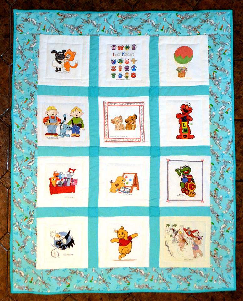 Photo of (QUILTED) Young Cartoons's quilt