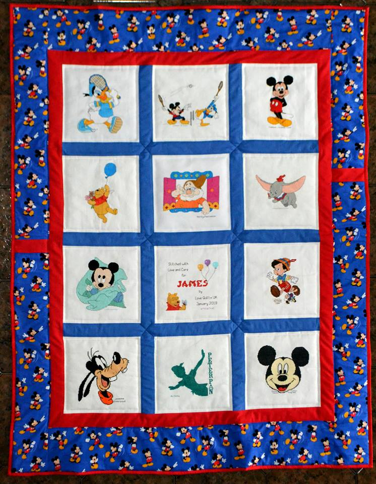 Photo of James R's quilt