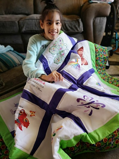 Photo of Keira A's quilt
