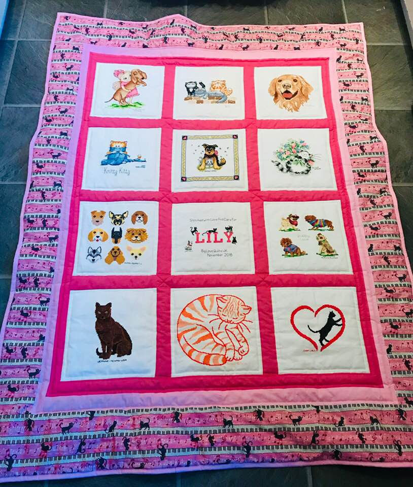 Photo of Lily's quilt