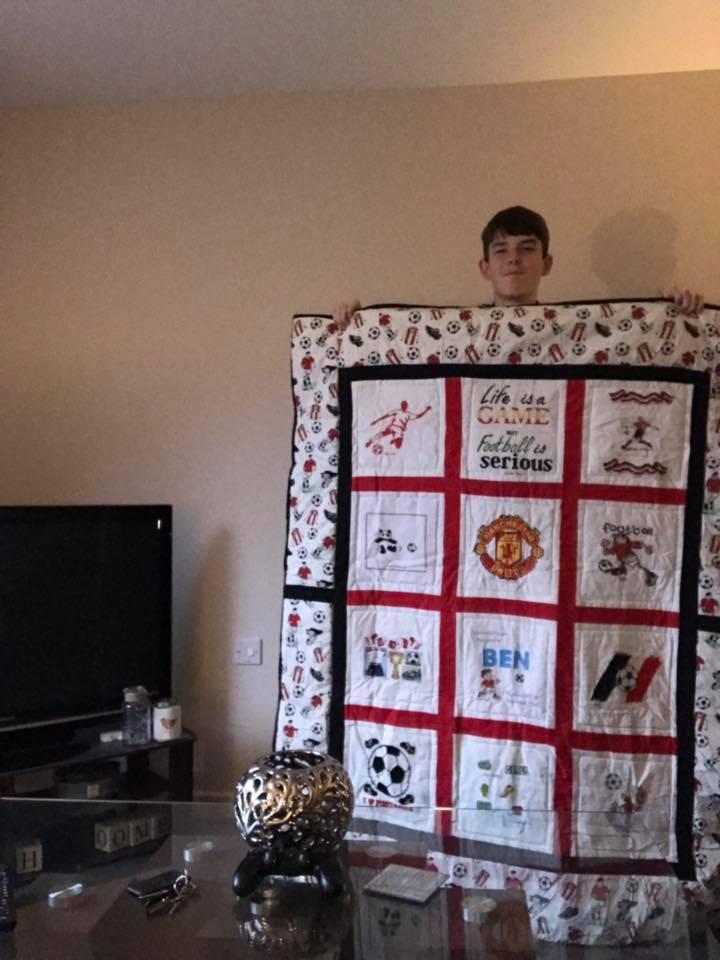 Photo of Ben D's quilt