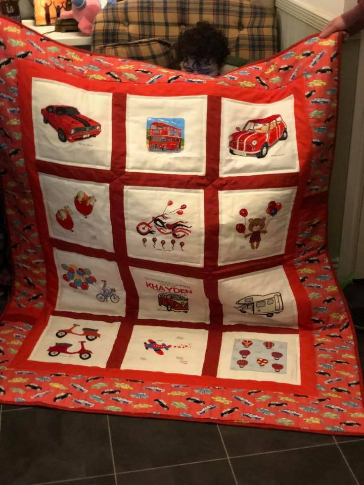 Photo of Khayden H's quilt