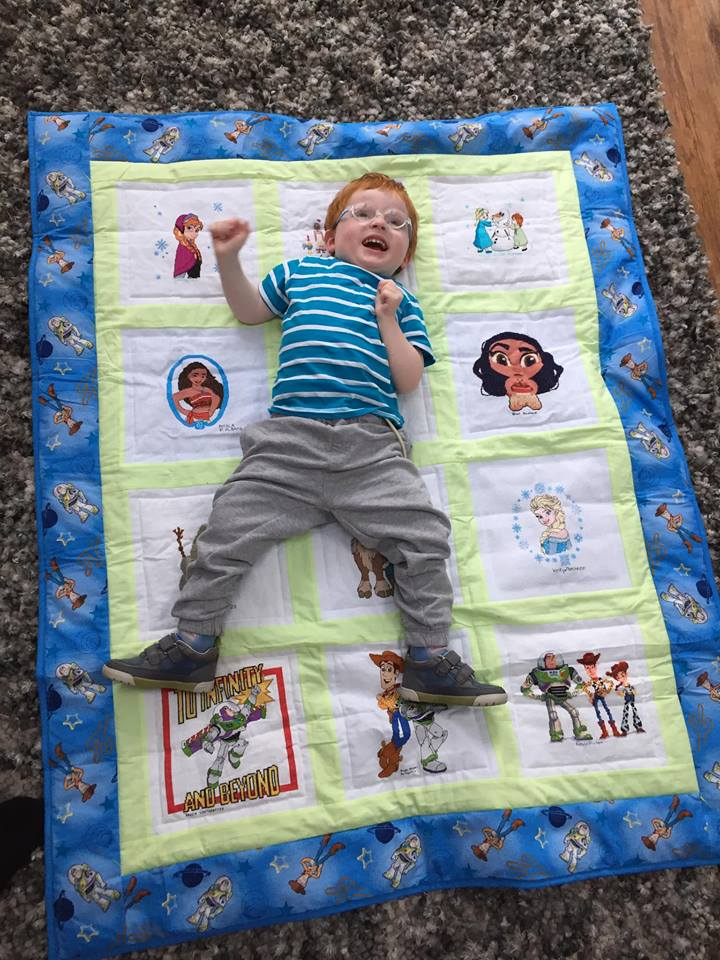 Photo of Ethan M's quilt