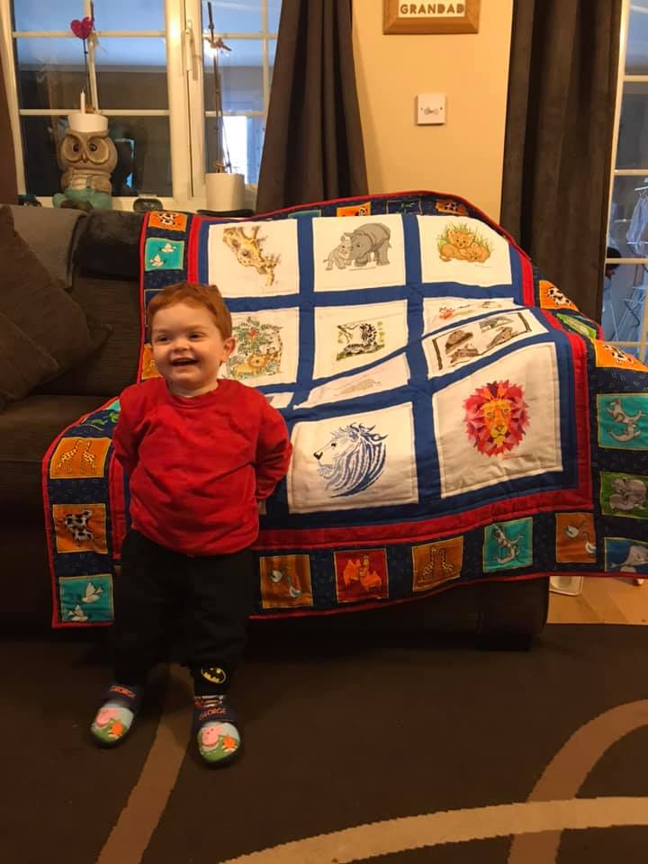 Photo of Henry B's quilt