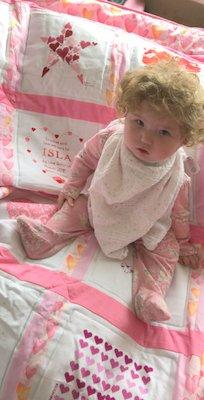 Photo of Isla I's quilt