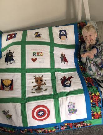 Photo of Rio V's quilt