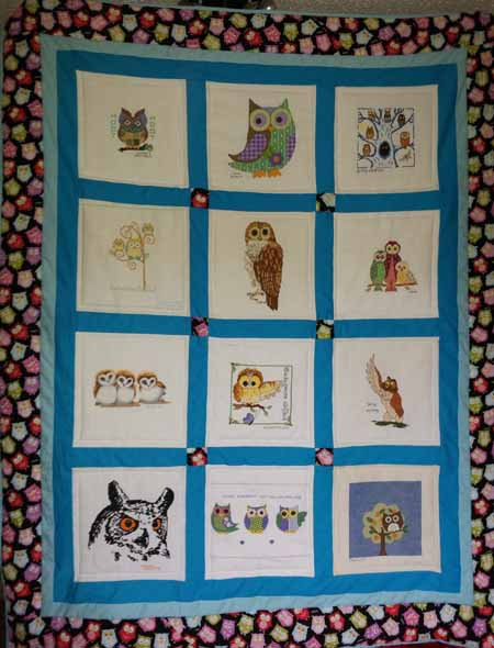 Photo of (QUILTED) Owls's quilt