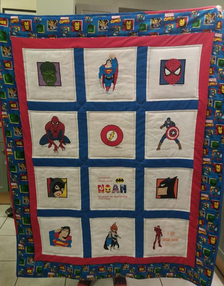 Photo of Noah P's quilt