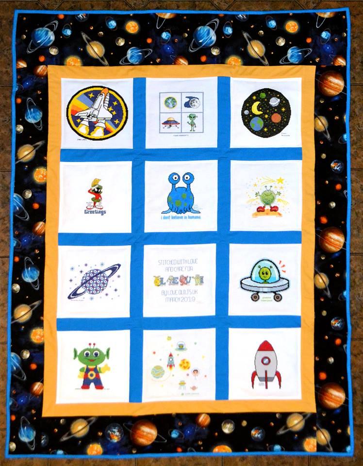 Photo of Levi C's quilt