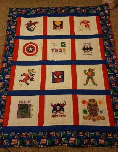 Photo of Theo S's quilt
