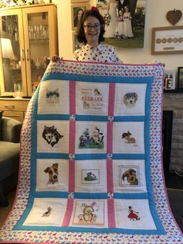 Photo of Ella-Lee's quilt