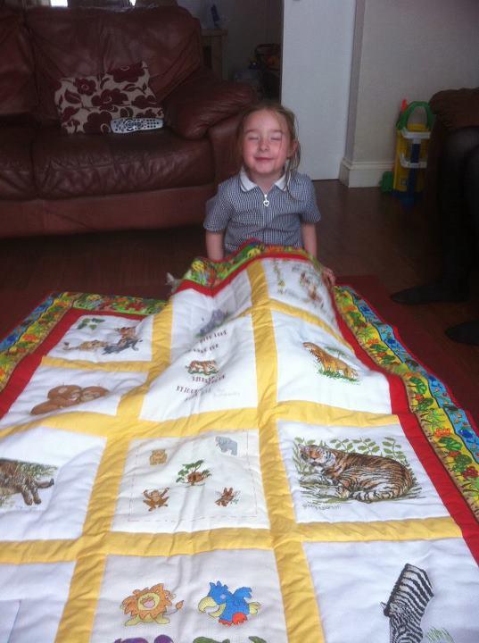 Photo of Amelia E's quilt