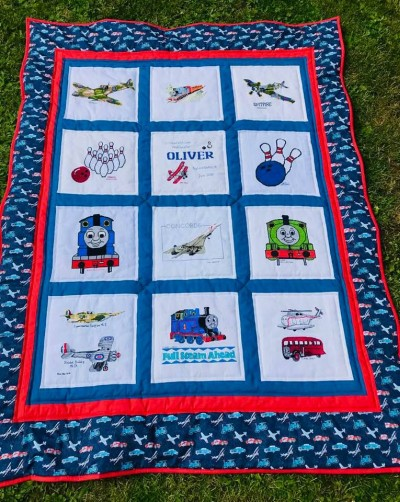 Photo of Oliver W's quilt