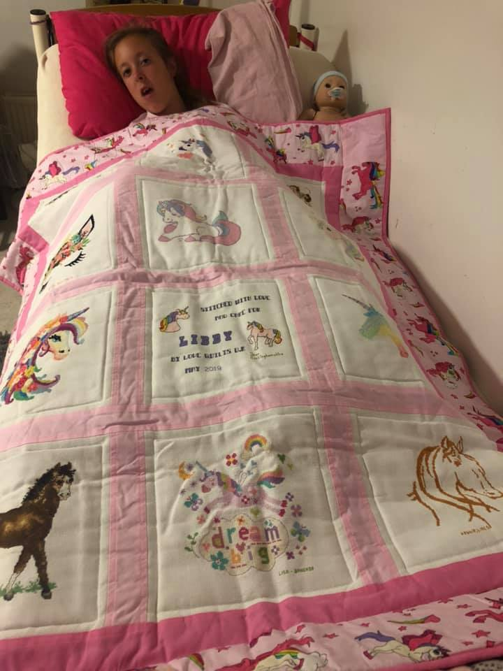 Photo of Libby T's quilt
