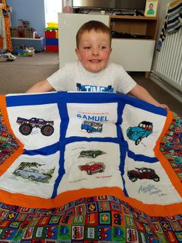 Photo of Samuel S's quilt