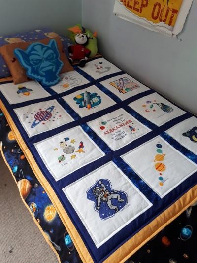 Photo of Alexander D's quilt