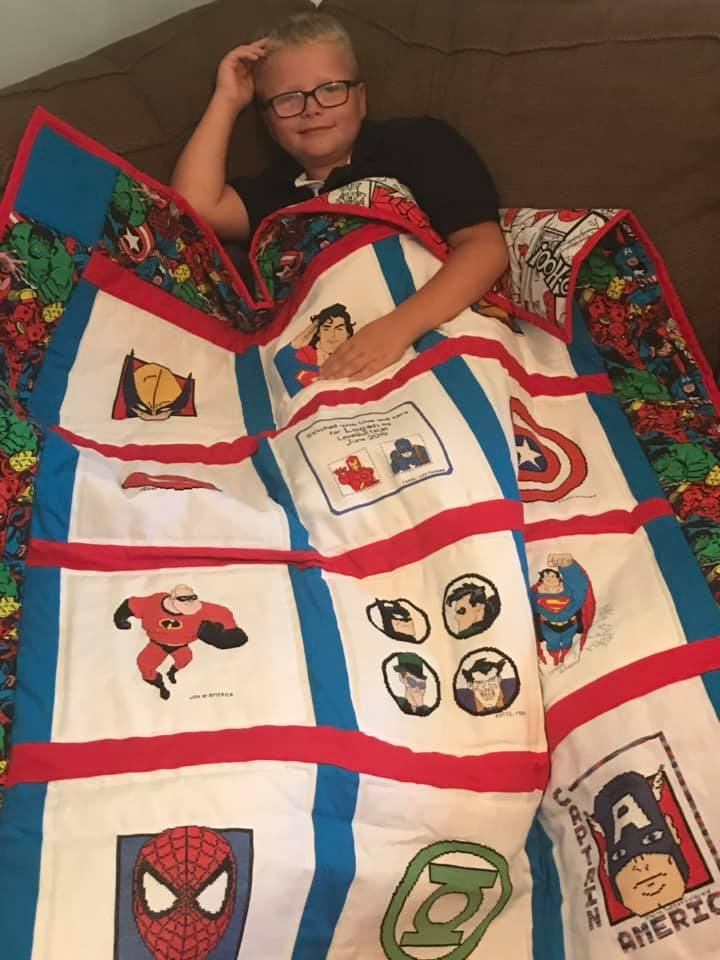 Photo of Logan N's quilt