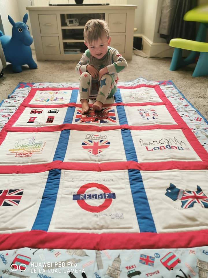 Photo of Reggie A's quilt