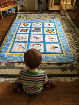 Photo of Dilly's quilt
