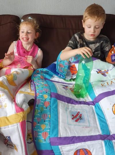 Photo of Kian L's quilt