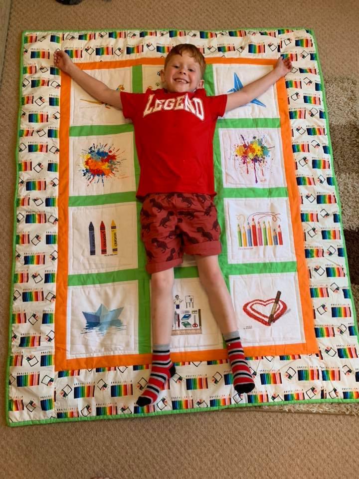 Photo of Noah E's quilt