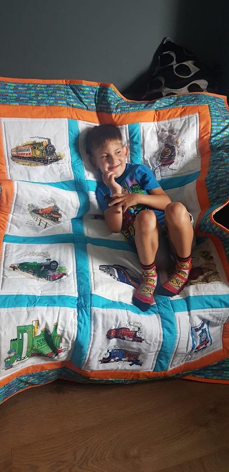 Photo of Reuben B's quilt