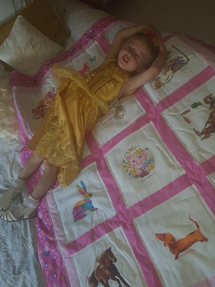 Photo of Scarlett C's quilt