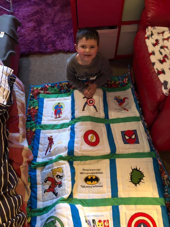 Photo of Aaron B's quilt