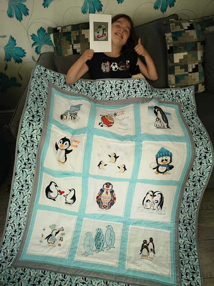 Photo of Brodie P's quilt