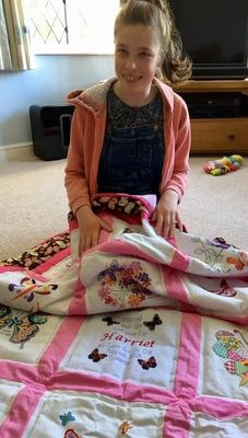 Photo of Harriet C's quilt