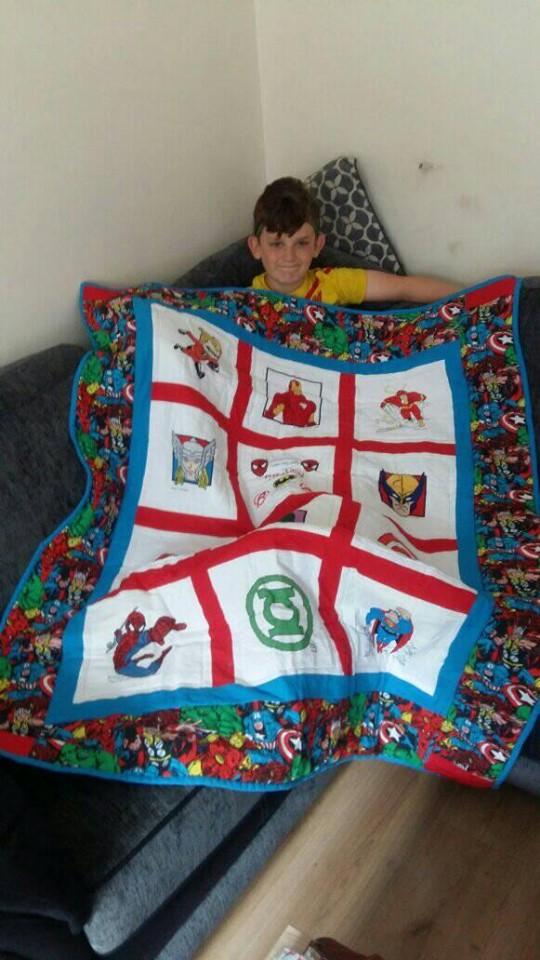 Photo of Khalen S's quilt