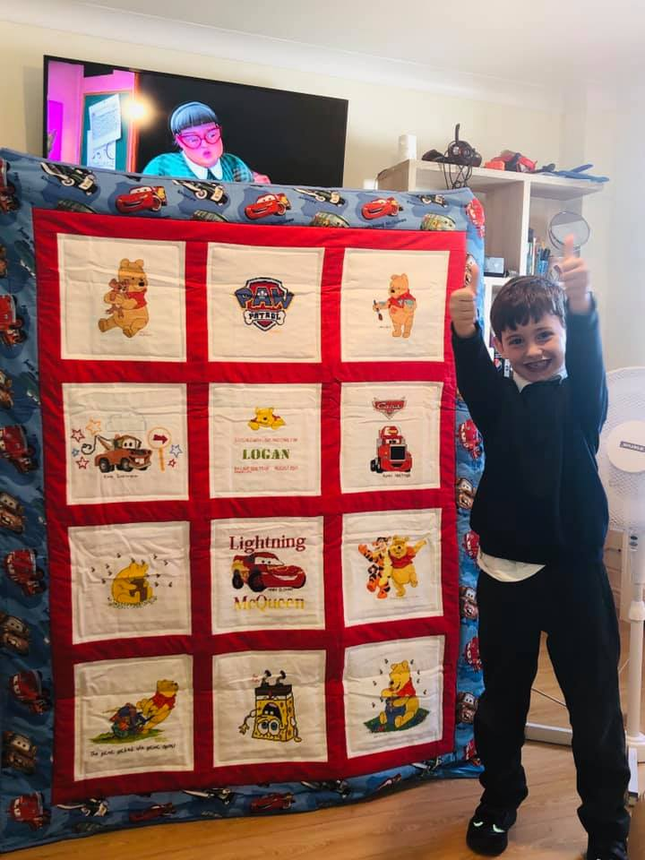 Photo of Logan C's quilt