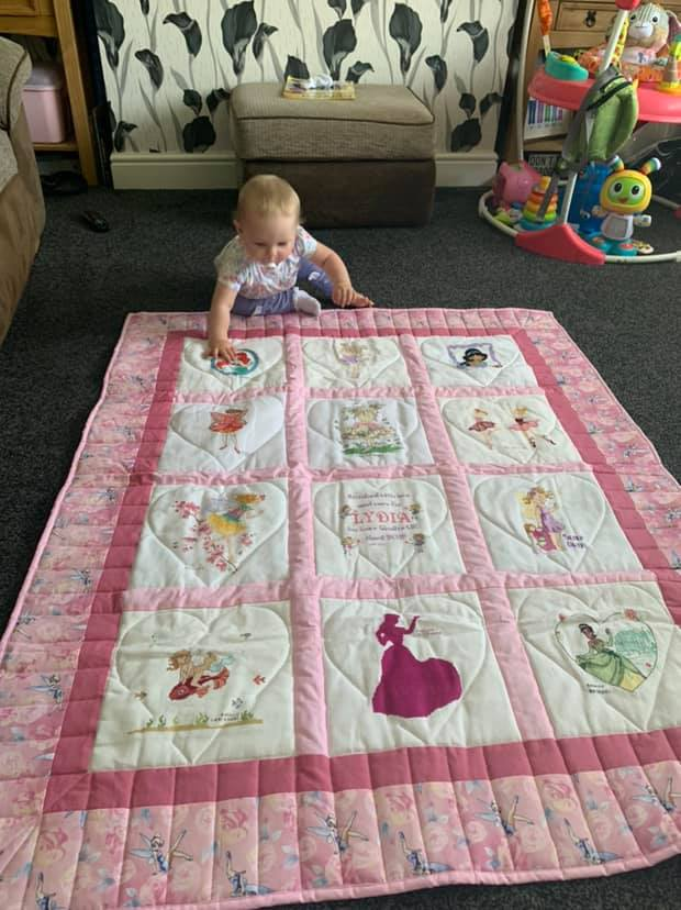 Photo of Lydia A's quilt