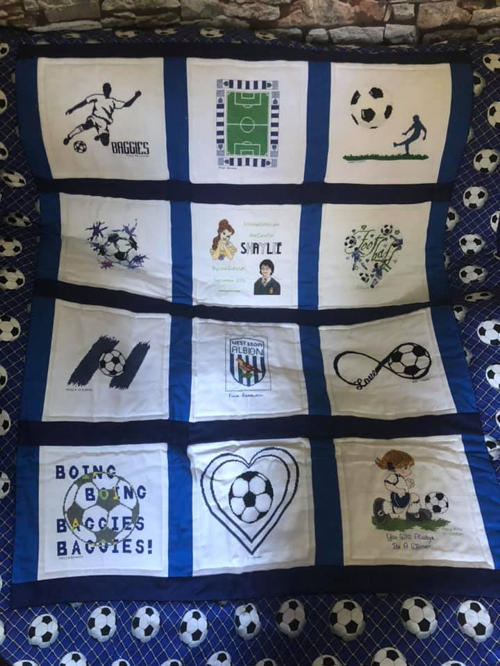 Photo of Shaylee's quilt